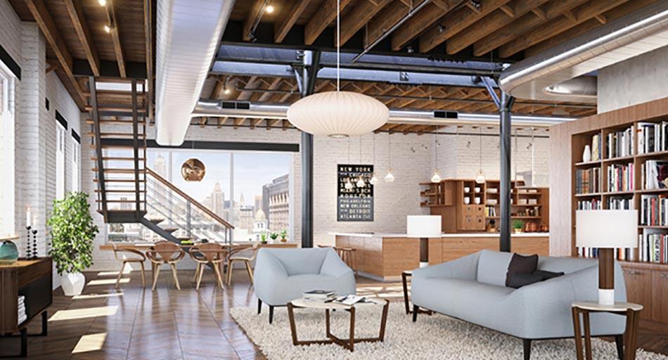 Dcoration Interieur Loft Industriel
