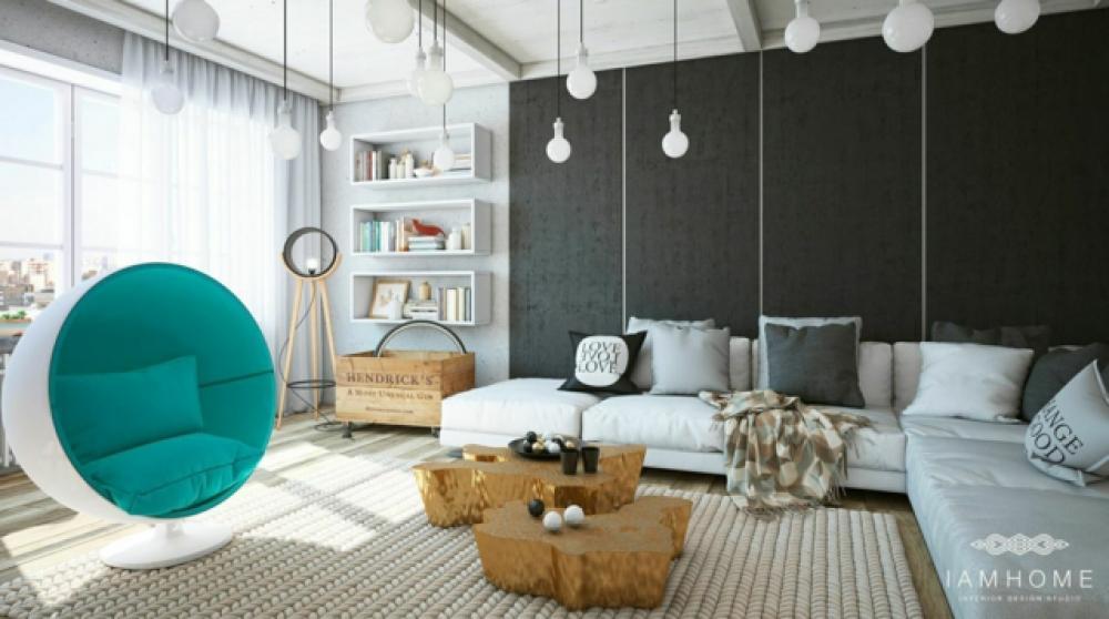 gris pour une maison design