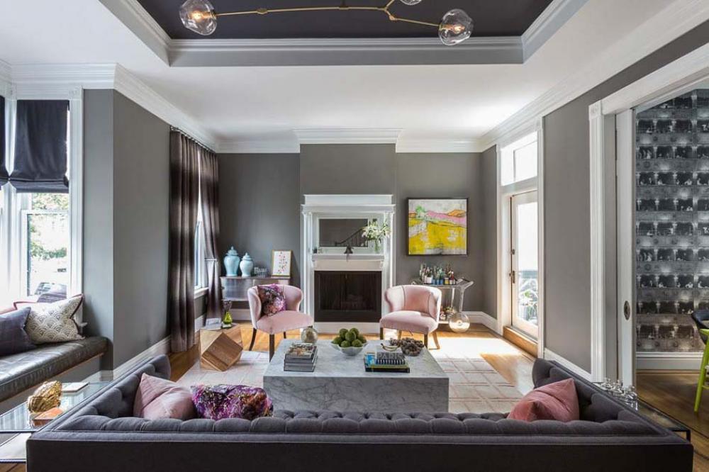 Belle Et Moderne Maison Familiale Entierement Renovee Au Cœur De San Francisco Design Feria