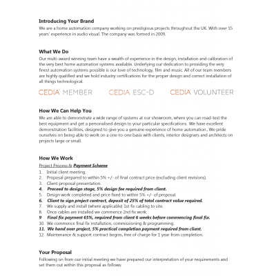 Proposal Introduction - Page 2