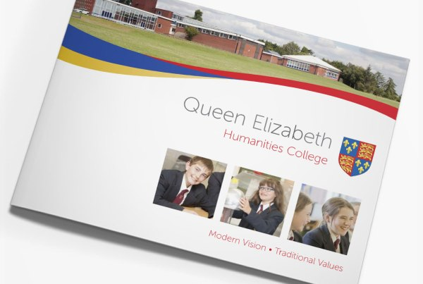 Queen Elizabeth Humanities College Prospectus Design