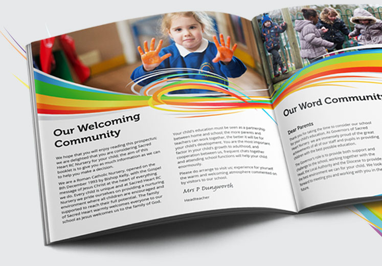 Primary School Prospectus Design and Print - Design for Schools
