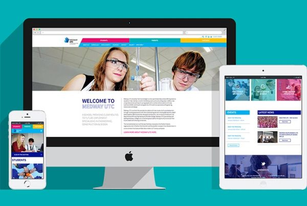 Medway UTC College Responsive Website Design