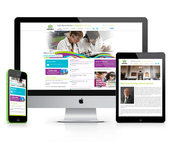 Design For Schools: Secondary School Responsive Website Design