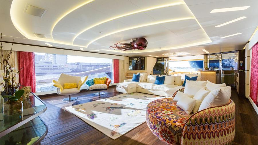 Palmer Johnson 48M SuperSport M Y Khalilah   Design for Sea     Khalilah mainsalon