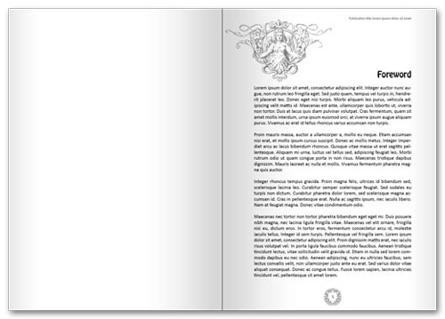preview of sample inside pages in spread format shown below