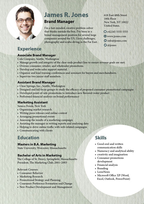 resume examples resume samples that get noticed