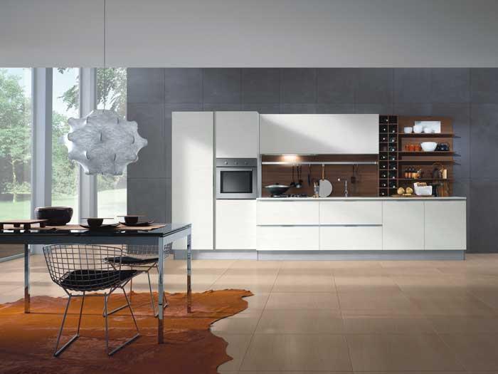 Mya linear kitchen by Composit Kitchens.