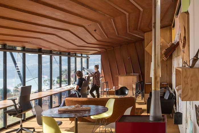 Lyttelton Studio by Bull O'Sullivan Architecture