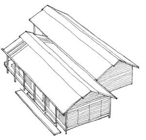 Shoal Bay bach, Parsonson Architects