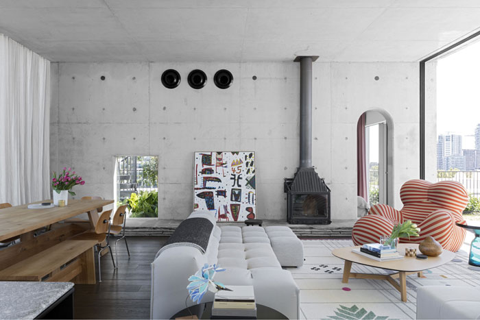 Cleveland Rooftop apartment by SJB
