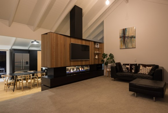 Product X Architecture's Fireplace Wall Feature