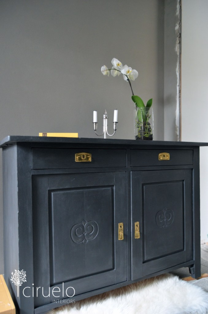 chalk painted furniture - my other inspiration piece