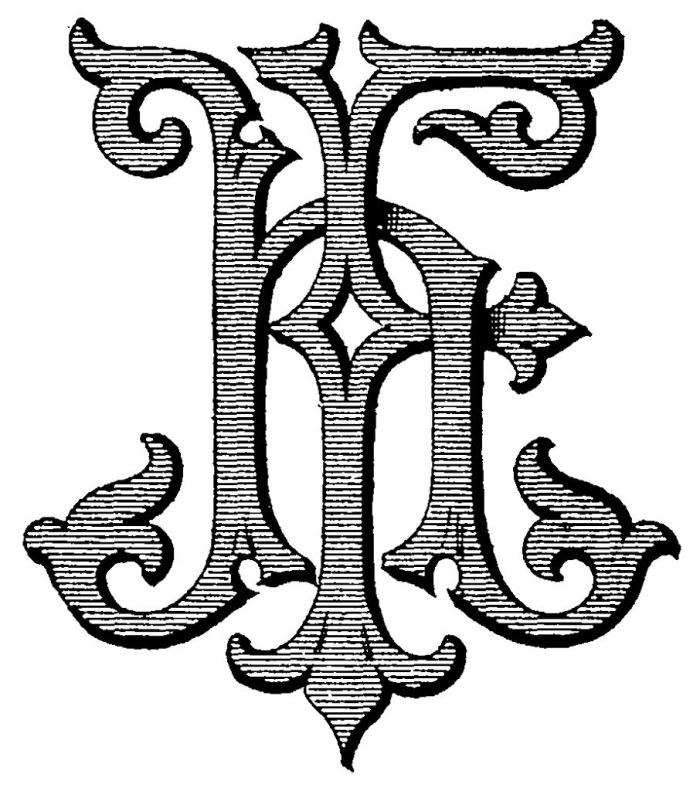The first monogram style