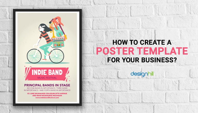 a poster template for your business