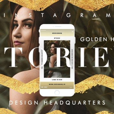 Instagram Stories Template • Golden Hour by Design HQ