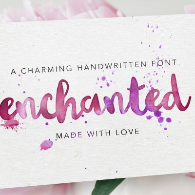 Enchanted Handwritten font by Design HQ