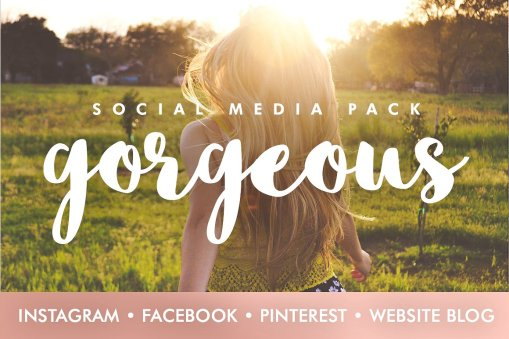 Gorgeous - Social Media Template Bundle - Design HQ