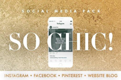 So Chic - Social Media Template Bundle - Design HQ