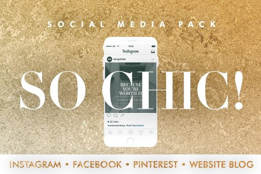 So Chic - Social Media Template Bundle - Design HQ