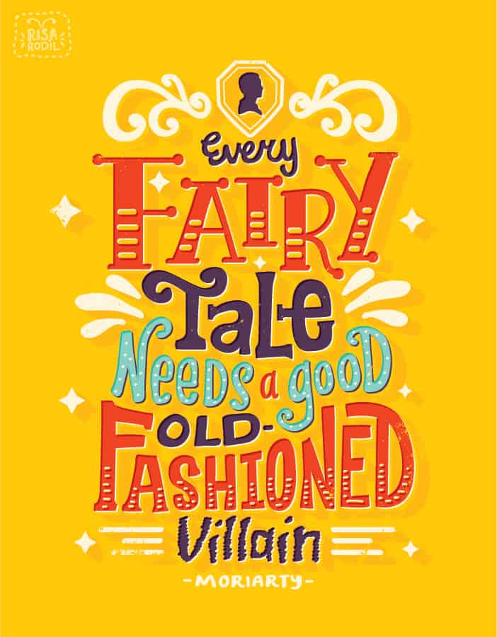 Illustrated Book Cover Quote ~ Sherlock illustrated quotes by risa rodil design ideas