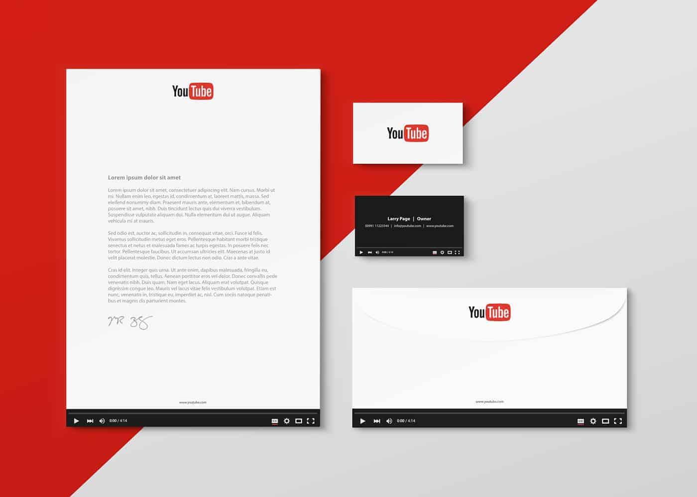 Stationeries Design Concept - Design Ideas