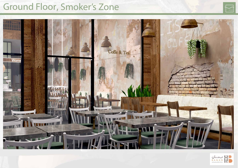 Interior Design Rustic Cafe Design Ideas