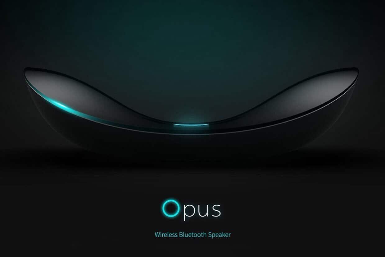 Opus A Wireless Bluetooth Speaker Design Ideas