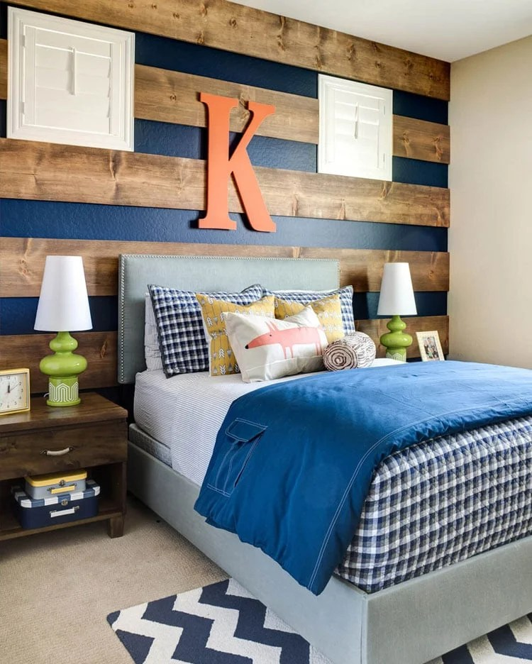 65 cool teenage boys room decor ideas