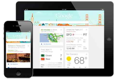 Google Card Design Google Now