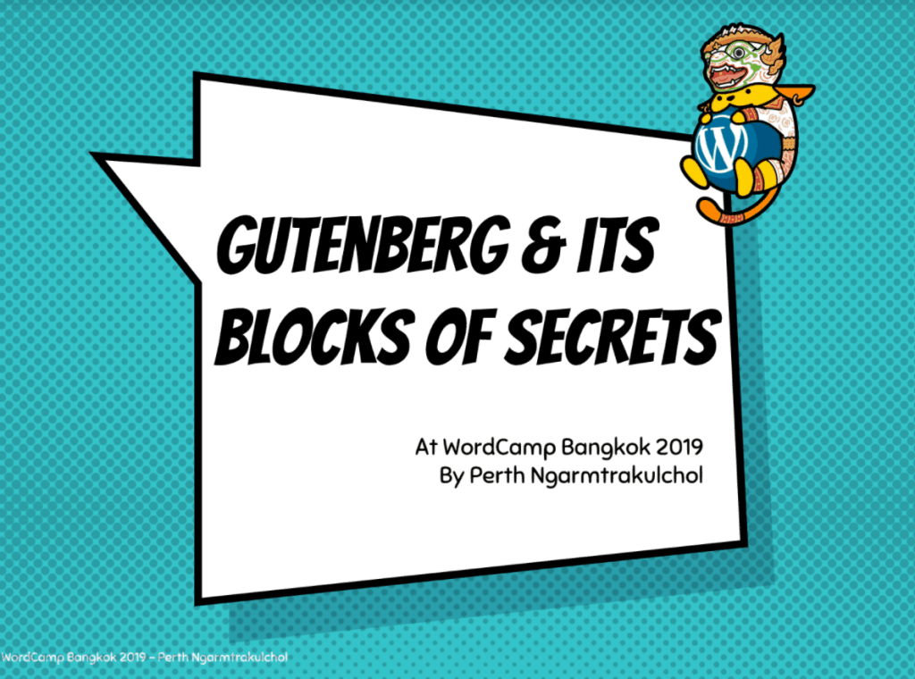 wordpress gutenberg slide