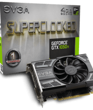 Placa Evga 1050ti 4GB