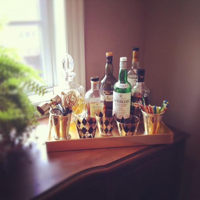 Vintage-bar-tray