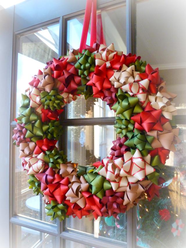 Bow-wreath