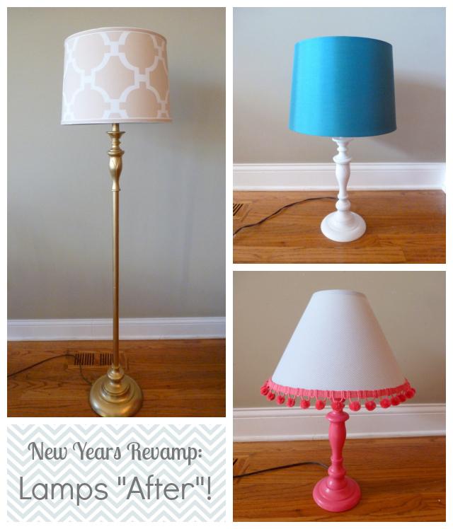 Spray-Paint-A-Lamp