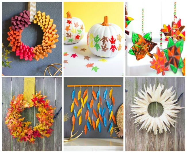 Fall Craft Ideas from Design Improvised