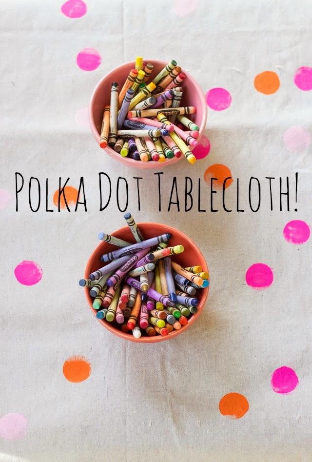 polka-dot-tablecloth