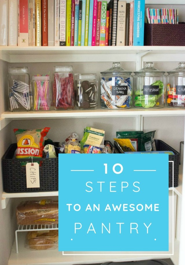 10 Simple Steps to Organizing Your Pantry