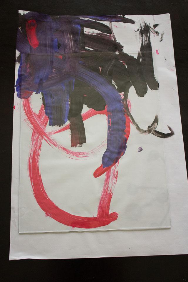 kids-art-gallery-wall
