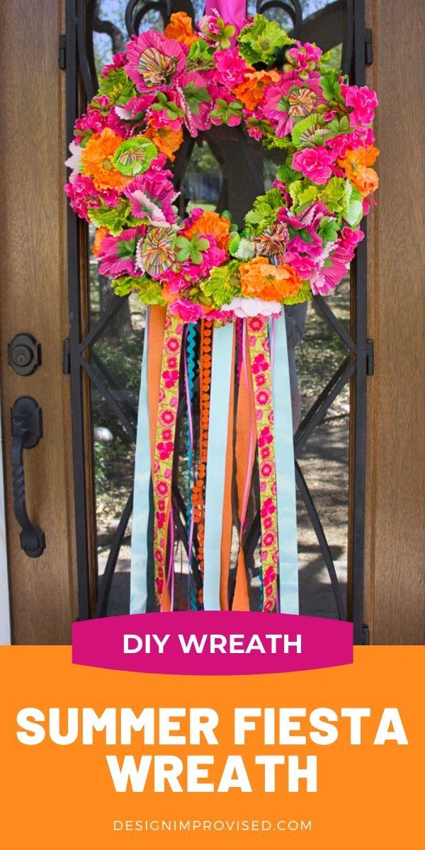 DIY Fiesta Wreath