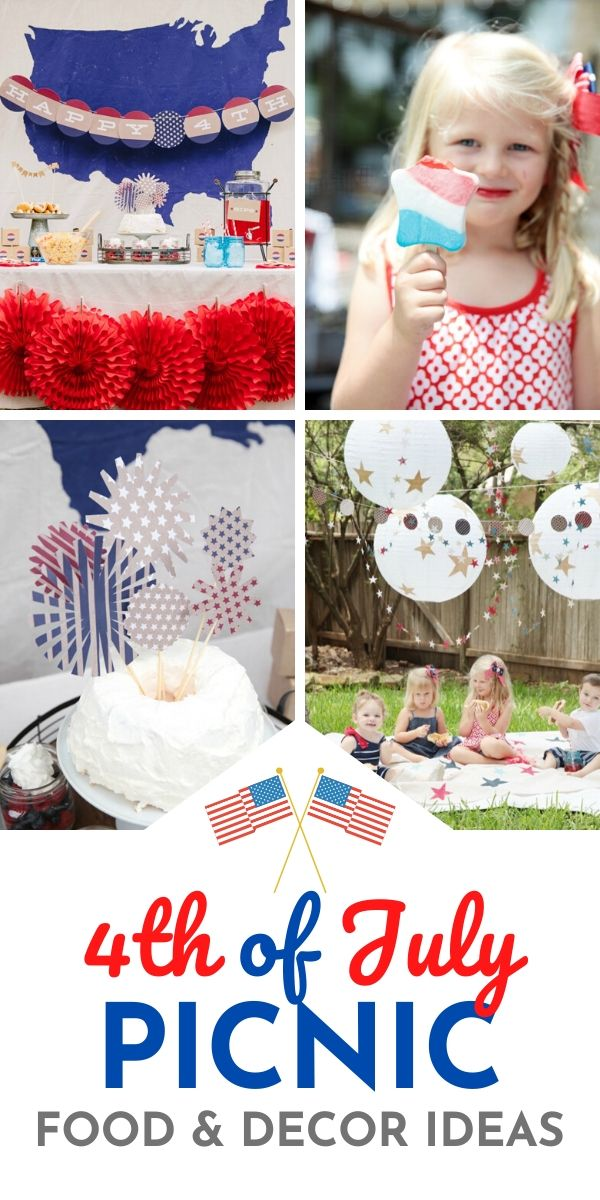 4th of July Kids Picnic Ideas