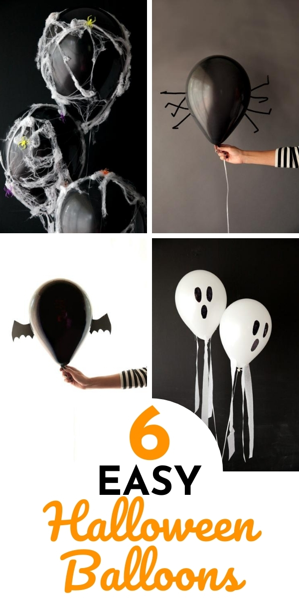 6 Easy DIY Halloween Balloon Ideas