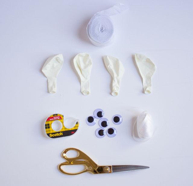 Halloween Mummy Balloons! || Design Improvised blog