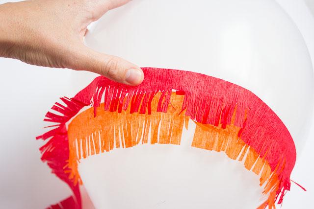 How to make DIY piñata balloons