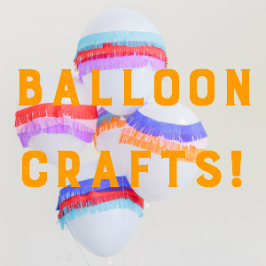 DIY balloon craft ideas