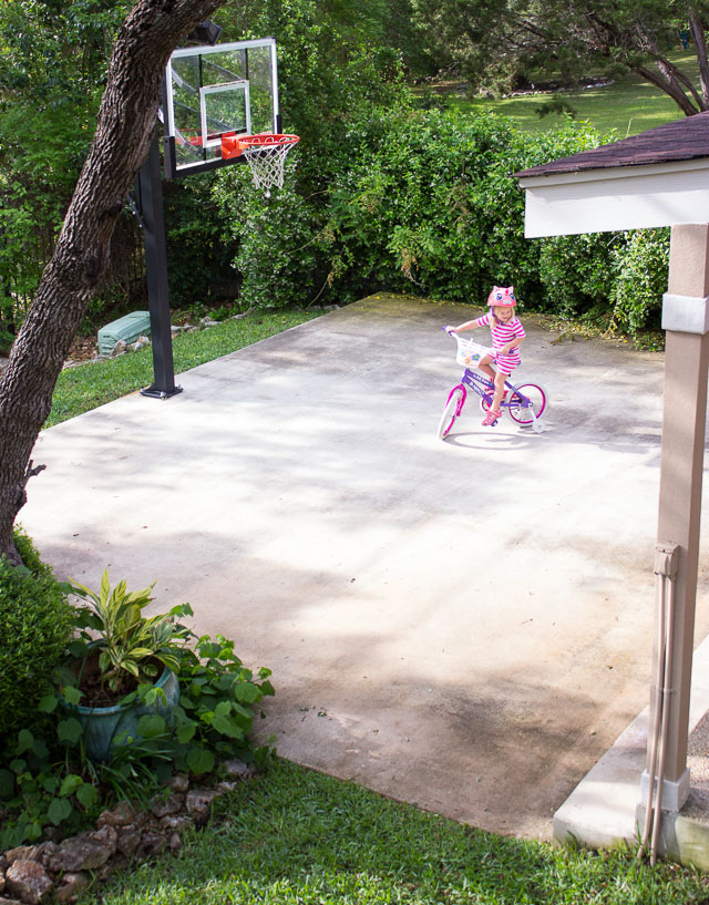 backyard patio activities