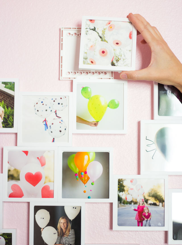 The easiest way to display your Instagram photos - no measuring required!