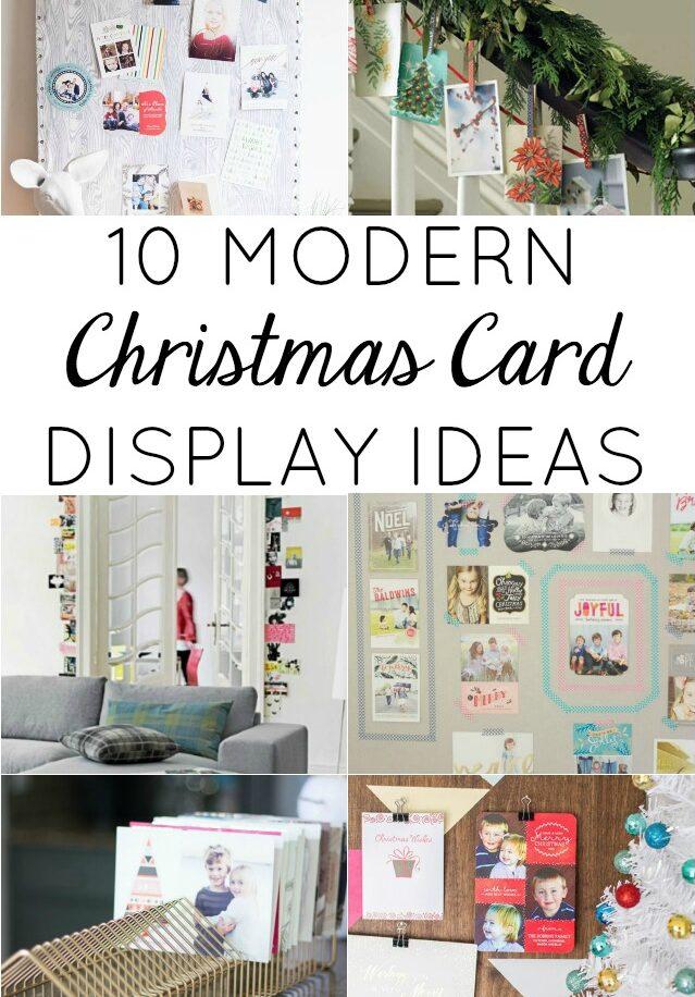 10 Creative Ways To Display Christmas Cards Design Improvised