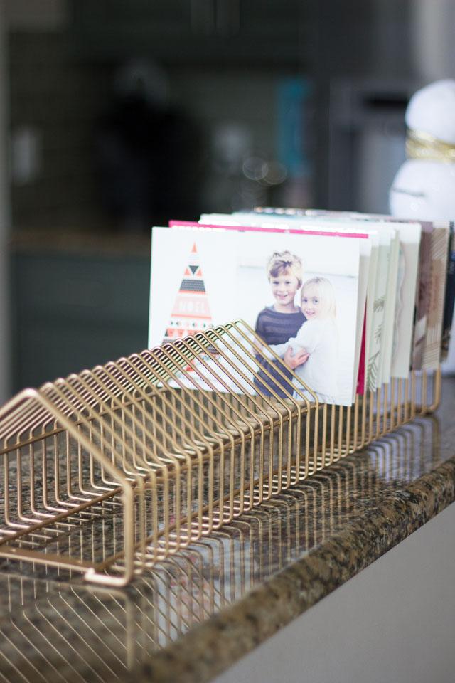 CD Rack Holiday Card Display
