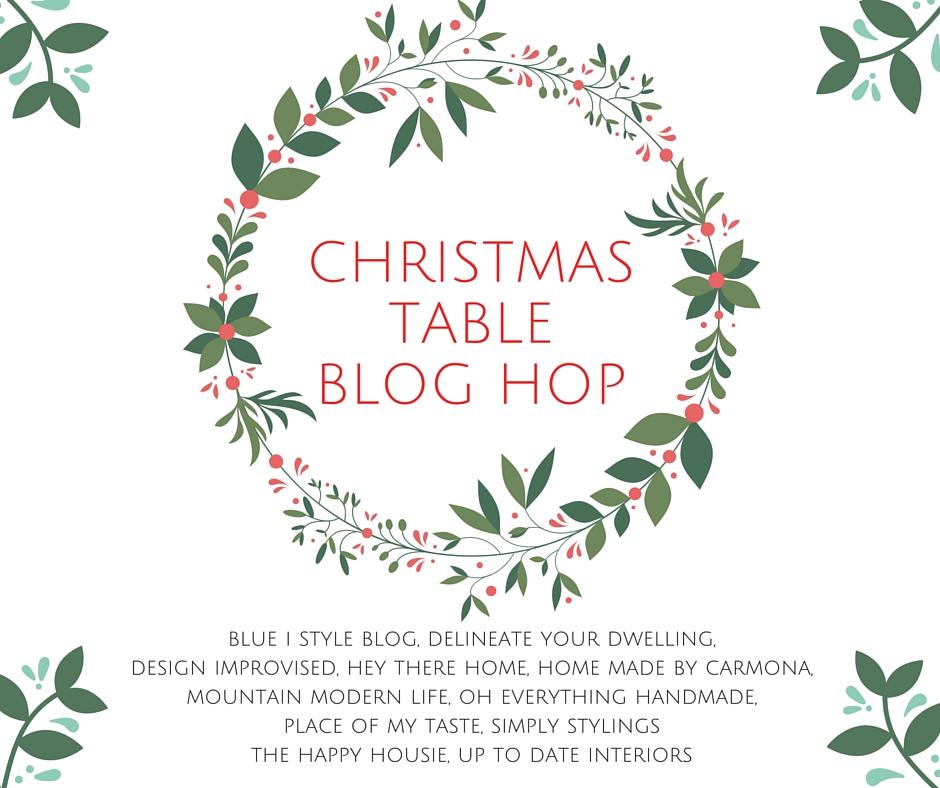 CHRISTMAS TABLE BLOG HOP